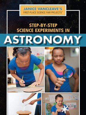 cover image of Step-by-Step Science Experiments in Astronomy