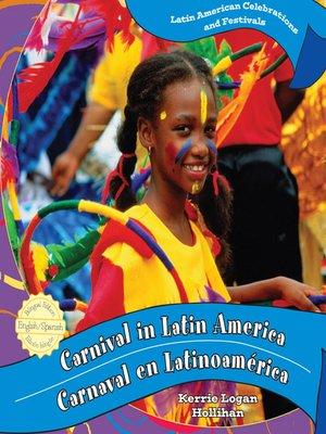 cover image of Carnival in Latin America / Carnaval en Latinoamérica