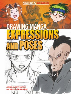cover image of Drawing Manga Expressions and Poses