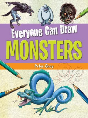 cover image of Everyone Can Draw Monsters