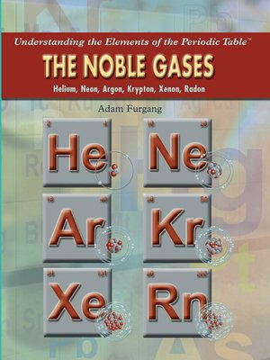 cover image of The Noble Gases
