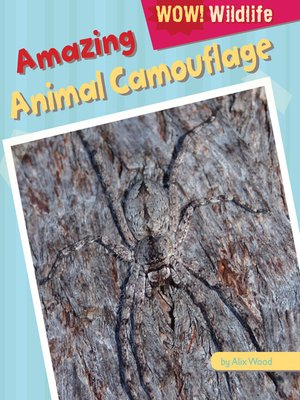 cover image of Amazing Animal Camouflage