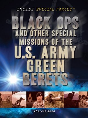 cover image of Black Ops and Other Special Missions of the U.S. Army Green Berets