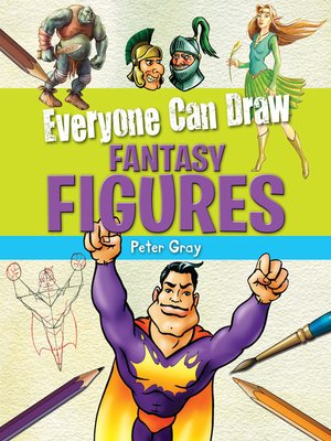 cover image of Everyone Can Draw Fantasy Figures