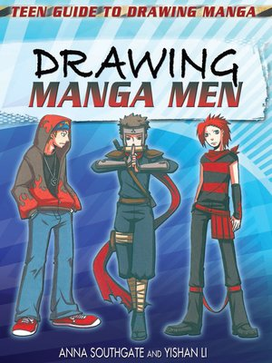 cover image of Drawing Manga Men