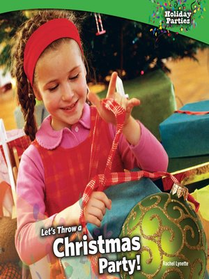 cover image of Let's Throw a Christmas Party!