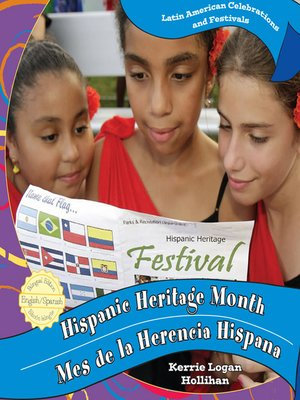 cover image of Hispanic Heritage Month / Mes de la Herencia Hispana