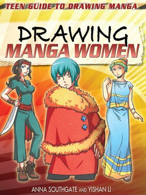 cover image of Drawing Manga Women