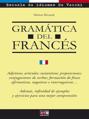 cover image of Gramática del francés