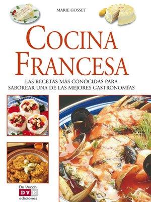 cover image of Cocina francesa