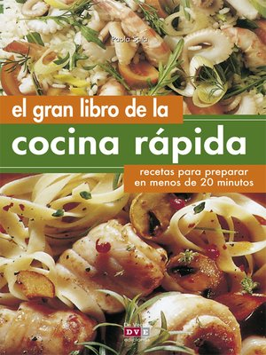 cover image of El gran libro de la cocina rápida