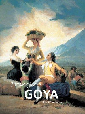 cover image of Francisco Goya