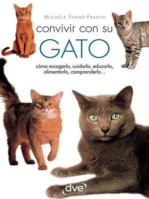 cover image of CONVIVIR CON SU GATO