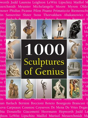 cover image of 1000 Scupltures of Genius