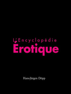 cover image of L'Encyclopédia érotica