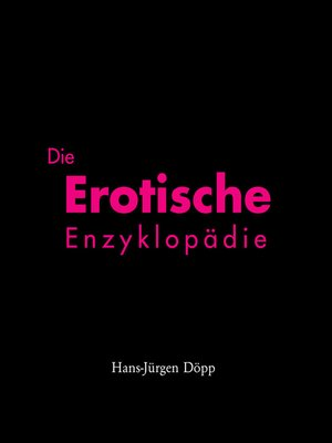 cover image of Encyclopædia Erotica