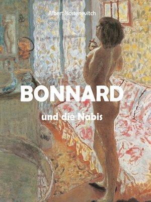 cover image of Bonnard und die Nabis