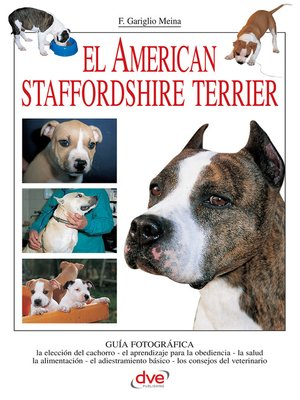 cover image of El American Staffordshire Terrier