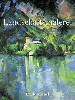 cover image of Landschaftsmalerei