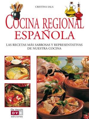 cover image of Cocina regional española