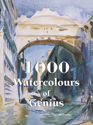 cover image of 1000 Watercolours of Genius