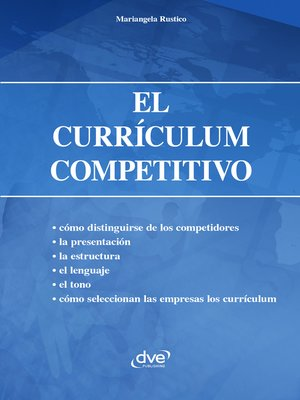 cover image of El currículum competitivo