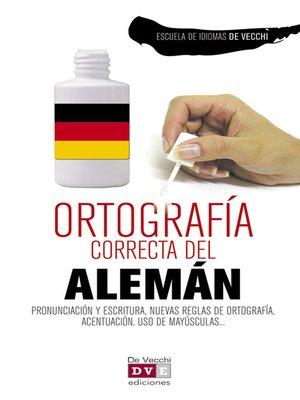 cover image of Ortografía correcta del alemán