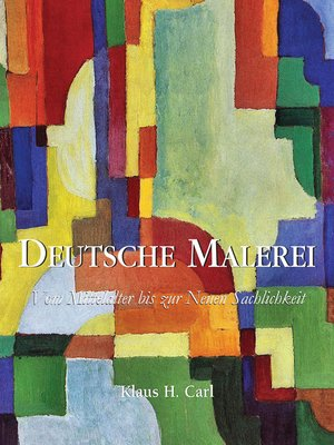 cover image of Deutsche Malerei