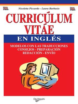 cover image of El curriculum vítae en inglés