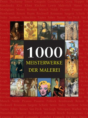 cover image of 1000 Meisterwerke der Malerei