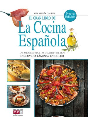 cover image of El gran libro de la cocina española