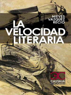cover image of La velocidad literaria
