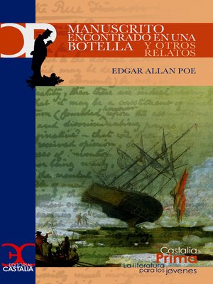 cover image of Manuscrito encontrado en una botella y otros relatos
