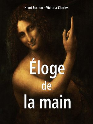 cover image of Éloge de la main