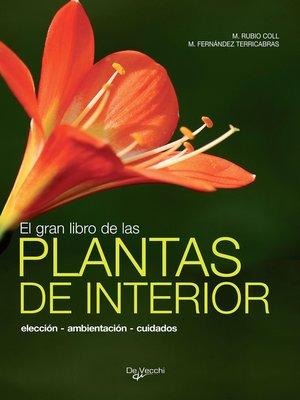 cover image of El gran libro de las plantas deinterior