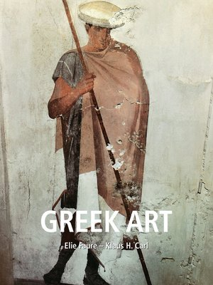 cover image of Greek art