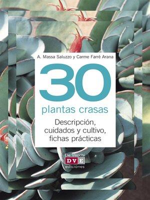 cover image of 30 plantas crasas