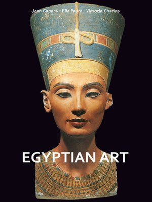 cover image of Egyptian art