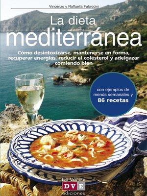 cover image of La dieta mediterránea