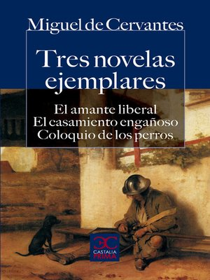 cover image of Tres novelas ejemplares