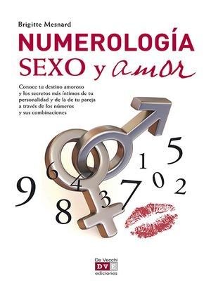 cover image of Numerología, sexo y amor