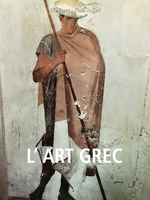 cover image of L'art grec