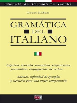cover image of Gramática del italiano