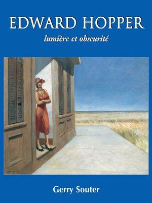 cover image of Edward Hopper lumière et obscurité