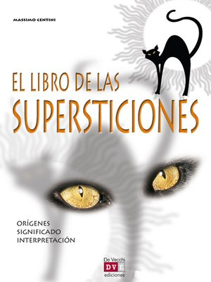cover image of El libro de las supersticiones