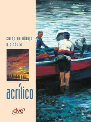 cover image of Curso de dibujo y pintura. Acrílico