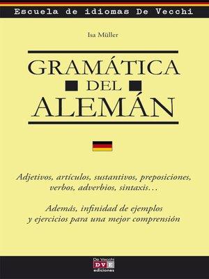 cover image of Gramática del alemán