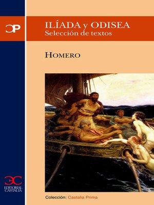 cover image of Ilíada y Odisea