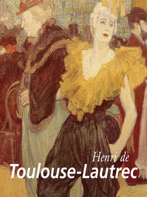 cover image of Henri de Toulouse-Lautrec
