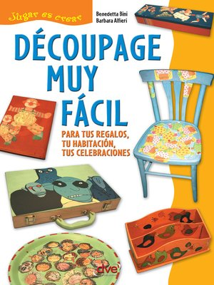 cover image of Découpage muy fácil